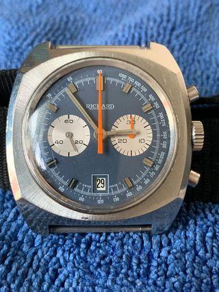 70 's Vintage Richard Chronograph watch