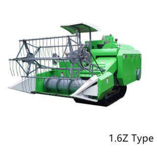 4LZ-1.6Z Full-Feeding Paddy Rice Wheat Combine Harvesting Machine
