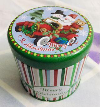Airtight steel container- Christmas
