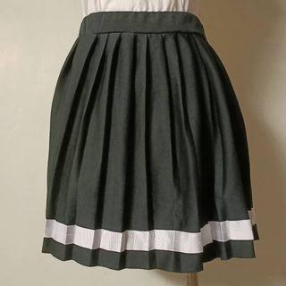 現貨✨條紋鬆緊短裙