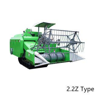 4LZ-2.2Z Full Feed Crawler Type Middle Size Grain Combine Harvester