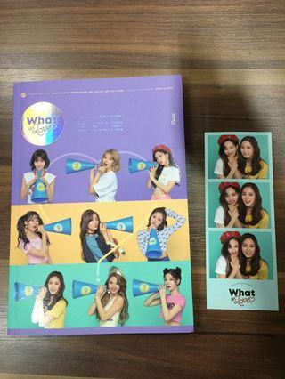 [ WTS ] TWICE What Is Love Album