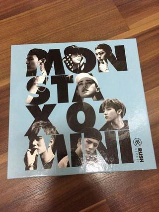 [ WTS ] Monsta X Rush Mini Album
