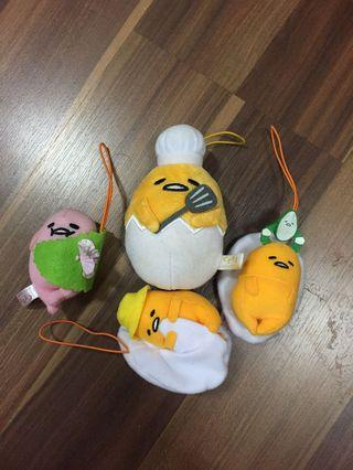Gudetama Keychains [Official From Japan]