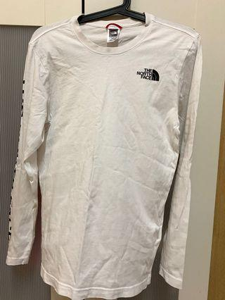 North Face White Tshirt