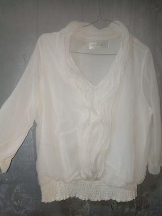 Blouse white import