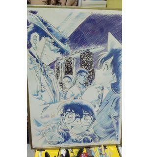 Detective Conan Limited Edition Autograph Board
