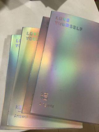 [WTS] BTS LOVE YOURSELF ANSWER ALBUM