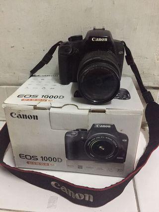 Canon 1000 D 18-55mm