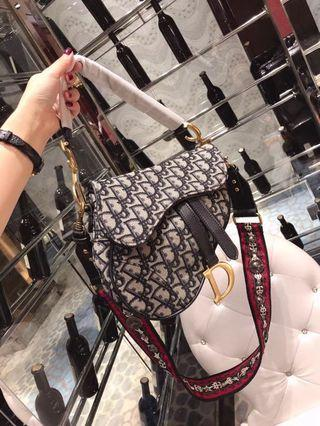 C.Dior Saddle bag