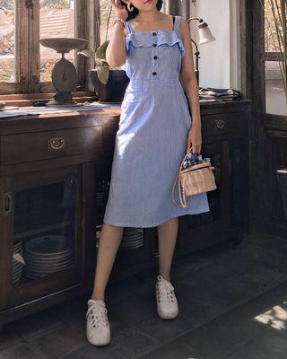 Summer stripey dress
