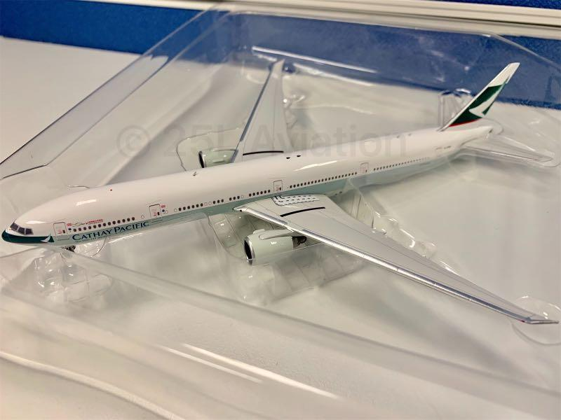 """[ Phoenix 1:400 ] 國泰航空 Cathay Pacific 777-300ER B-KQX  """"Our 50th 777-300ER"""" Livery"""