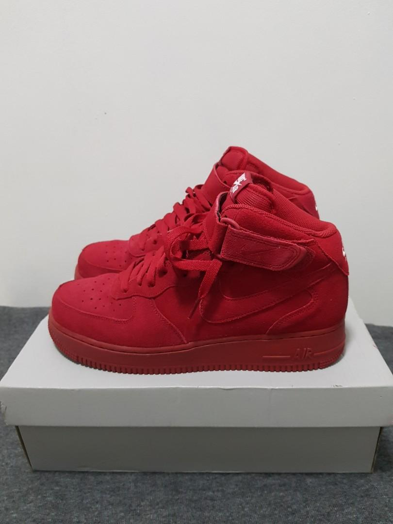 Air Force 1 Mid ATMOS exclusive, Men's Fashion, Footwear