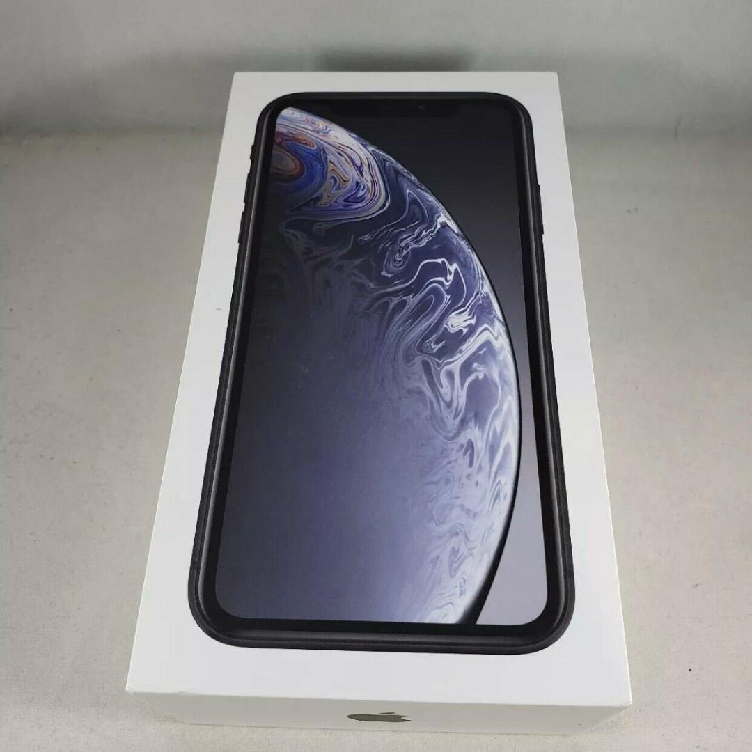 Apple iPhone XR 64GB - White- Black - Unlocked - Open Box