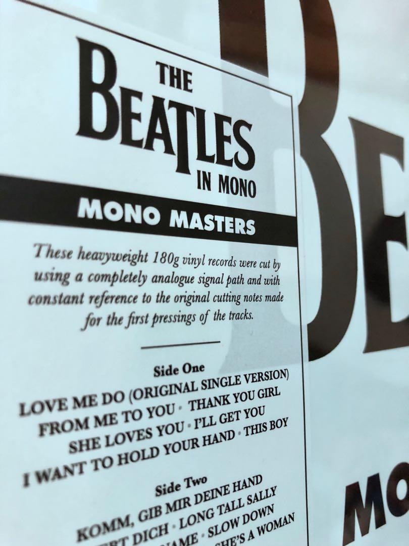 Beatles Mono Masters (3 x Vinyl LP Set)