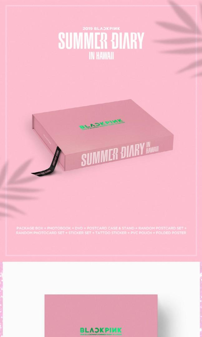 [Currently Out of Stock] BLACKPINK Photobook - 2019 BLACKPINK'S SUMMER DIARY [IN HAWAII]