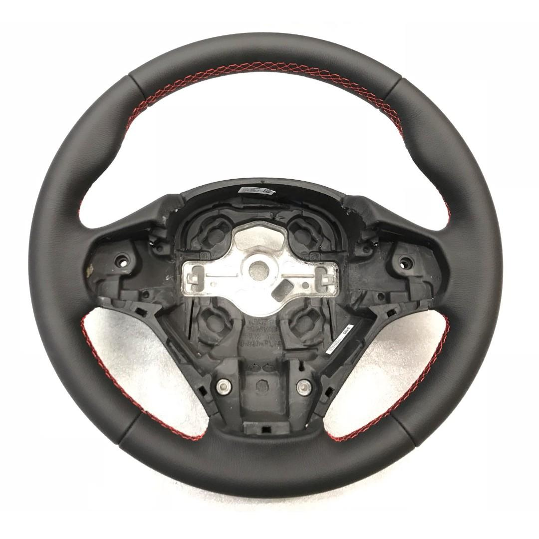 BMW Sport Leather Steering Wheel with Red Stitching