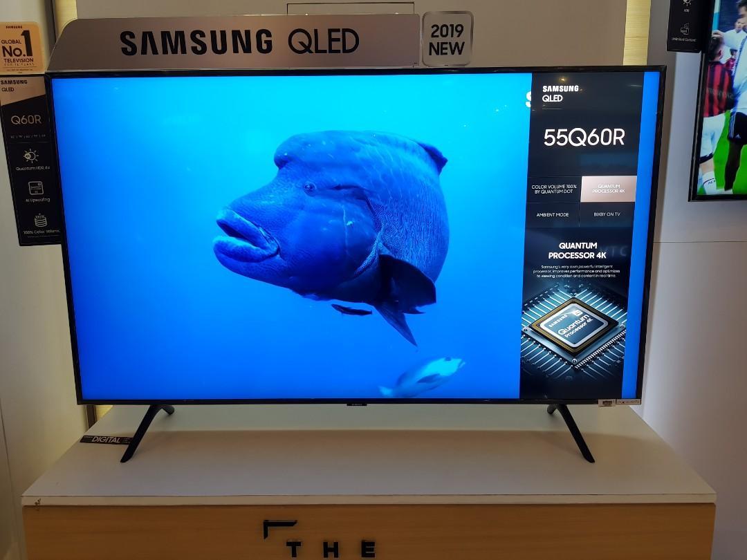 Brand new Samsung QLED 55Q60R 55