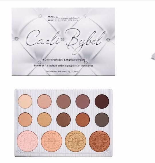 Carli Bybel Eyeshadow/Highlight Palette ✨