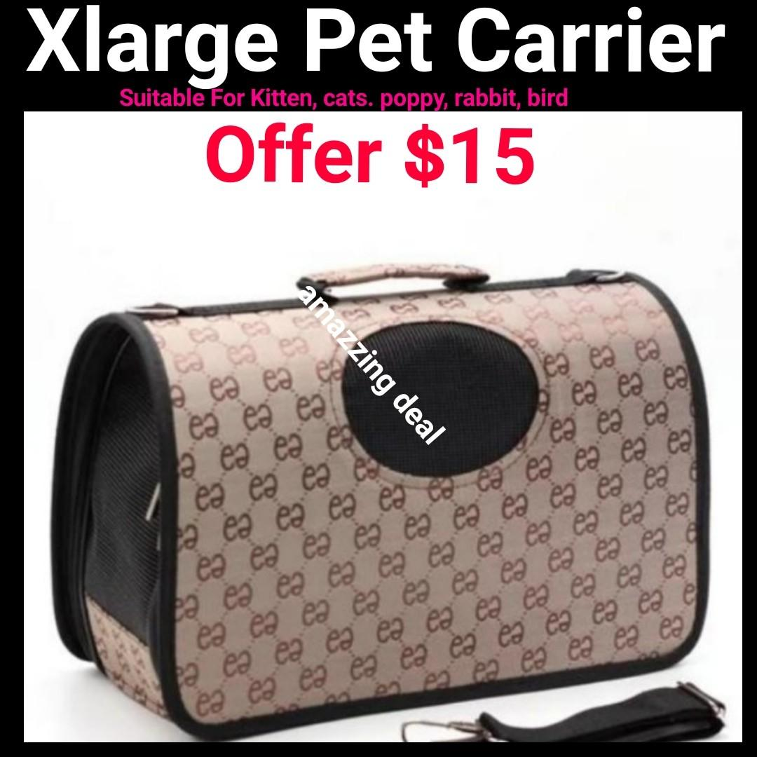 Cat Kitten Carrier Xlarge FOLDABLE Washable