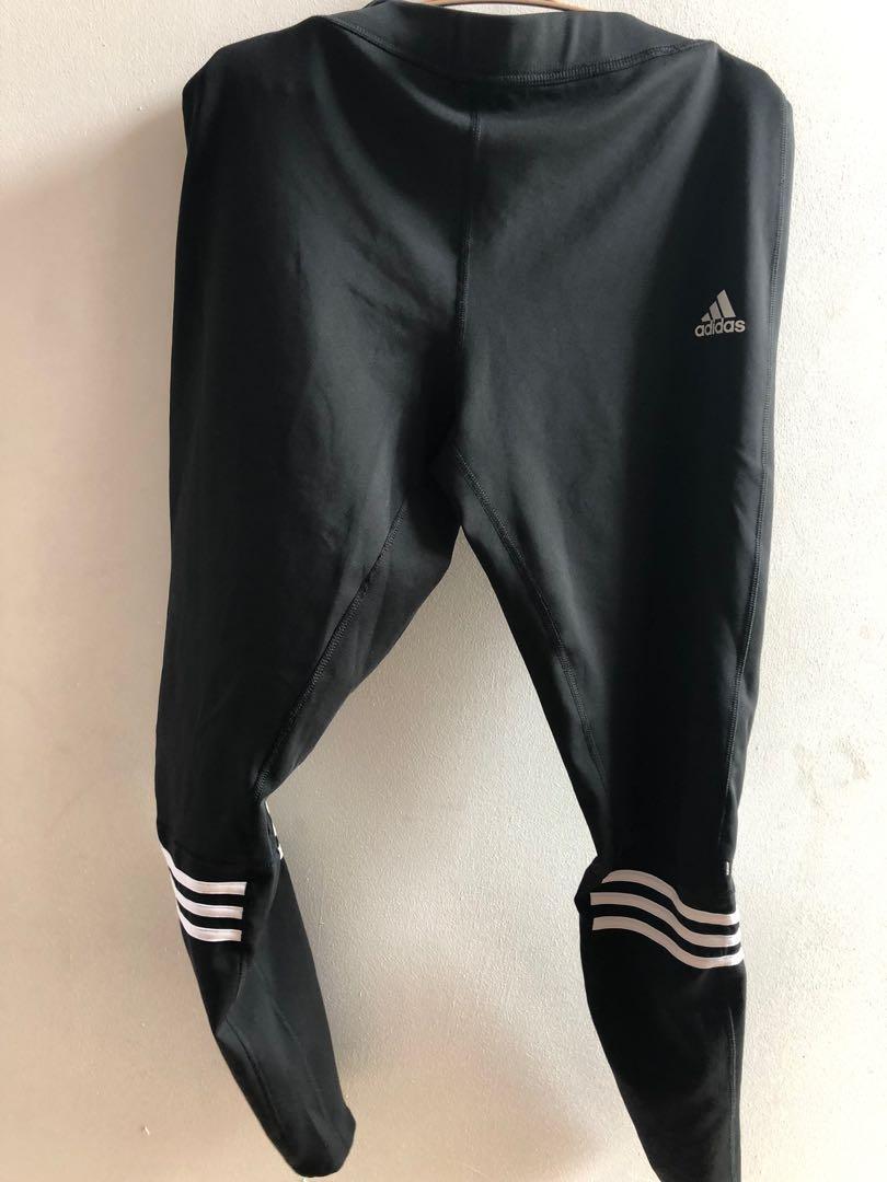 Celana Olahraga Legging Adidas Pria Original 100 Fesyen Pria Pakaian Bawahan Di Carousell