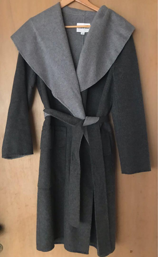 Country Road Coat Jacket Wool