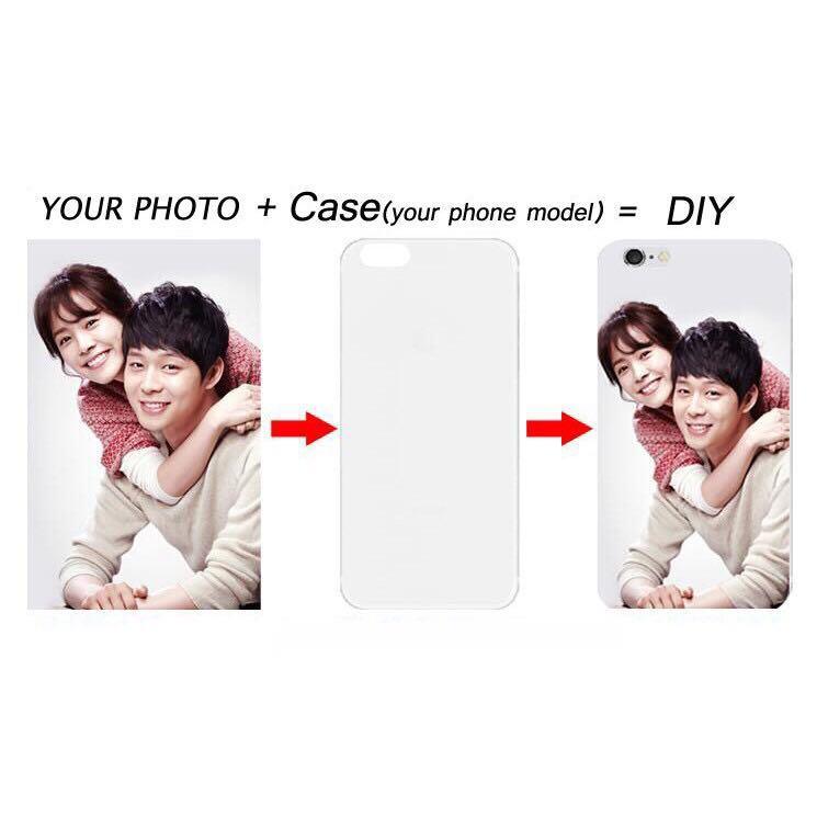 Diy Customizable Transparent Phone Case