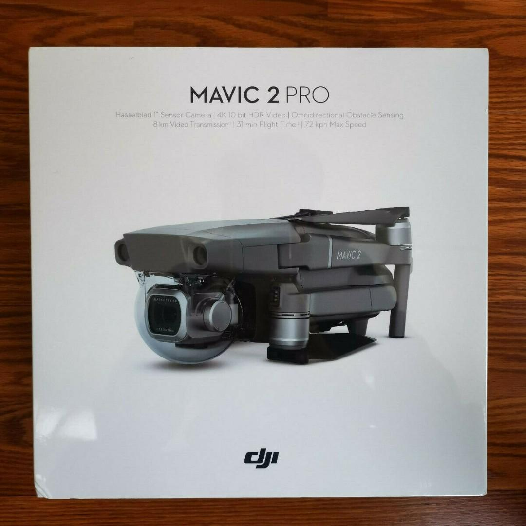 DJI Mavic 2 Pro Quadcopter Drone with Camera & Controller - Ready-to-Fly - Grey