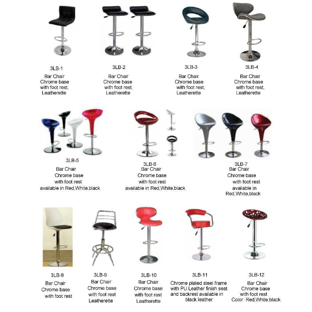 Miraculous Drafting Chair Bar High Chair Chrome Base With Foot Rest Inzonedesignstudio Interior Chair Design Inzonedesignstudiocom