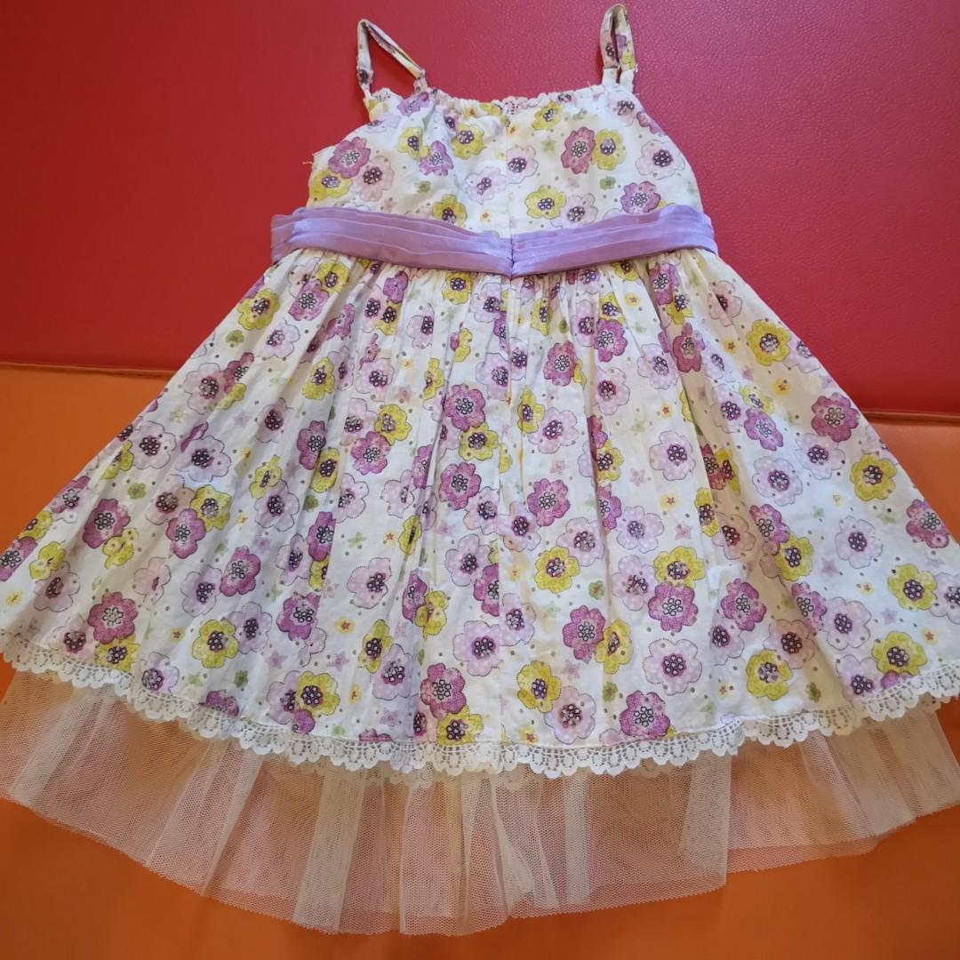 Dress anak Bubble girl size 3 tahun