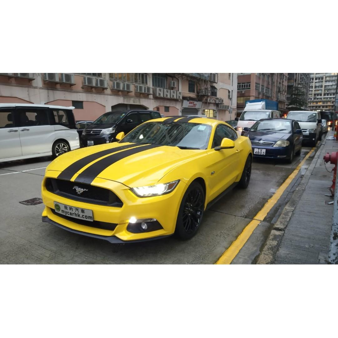 FORD MUSTANG 5.0 2016