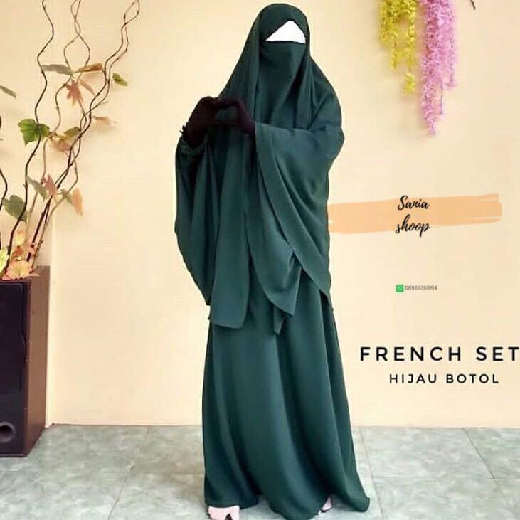 french gamis set khimar