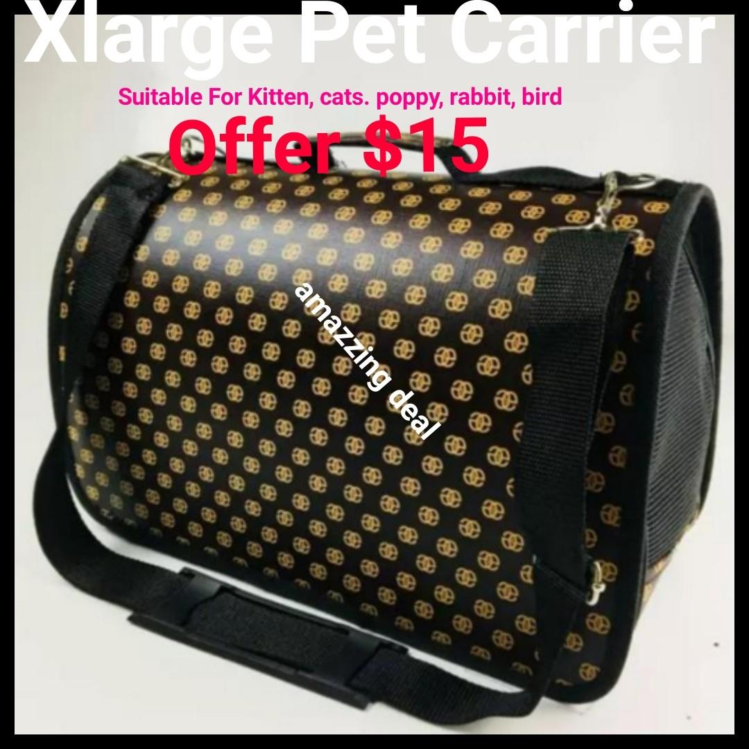 Handbag Pet Carrier Xlarge Foldable