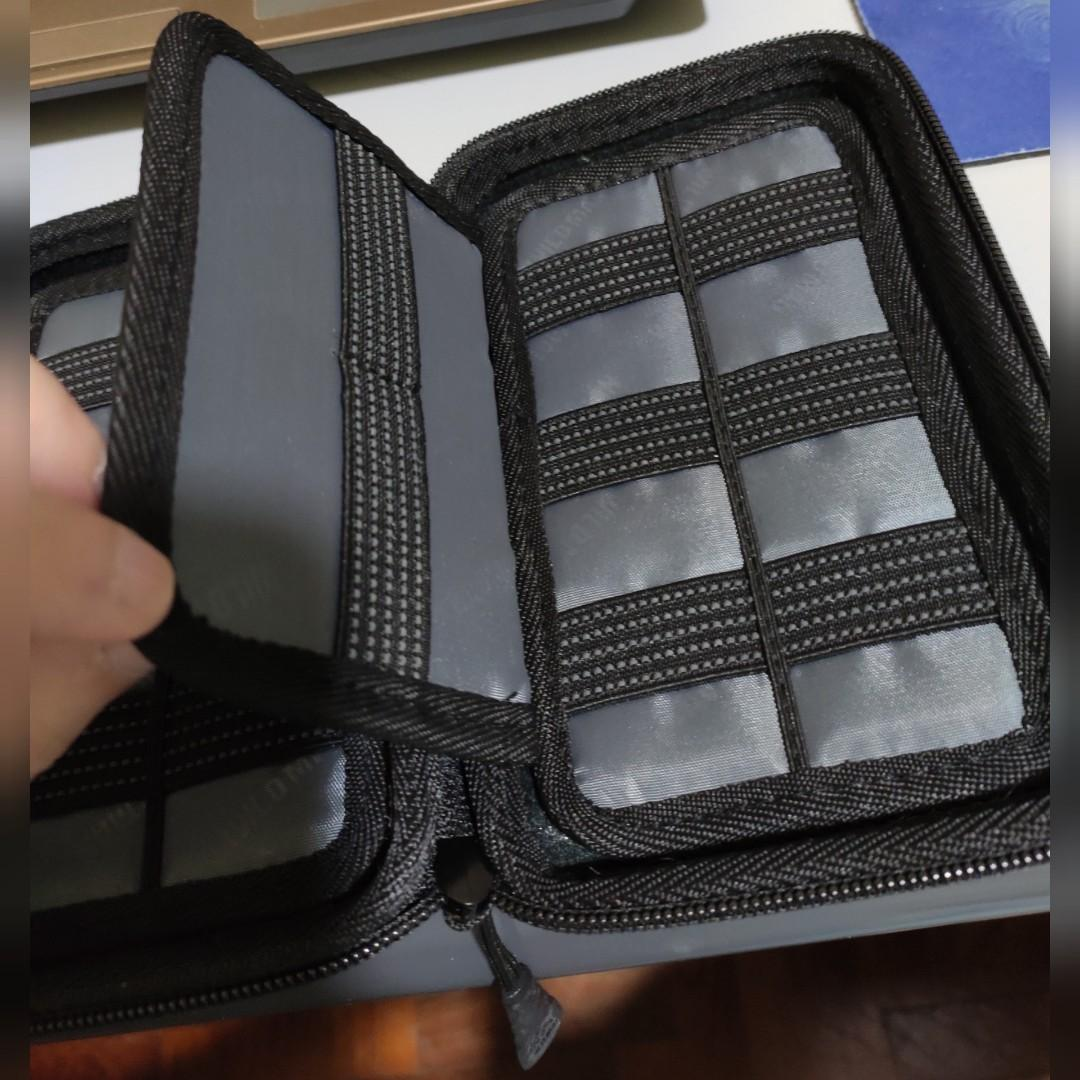 Hard Case Storage for USB Cables/Memory Card Hard Case