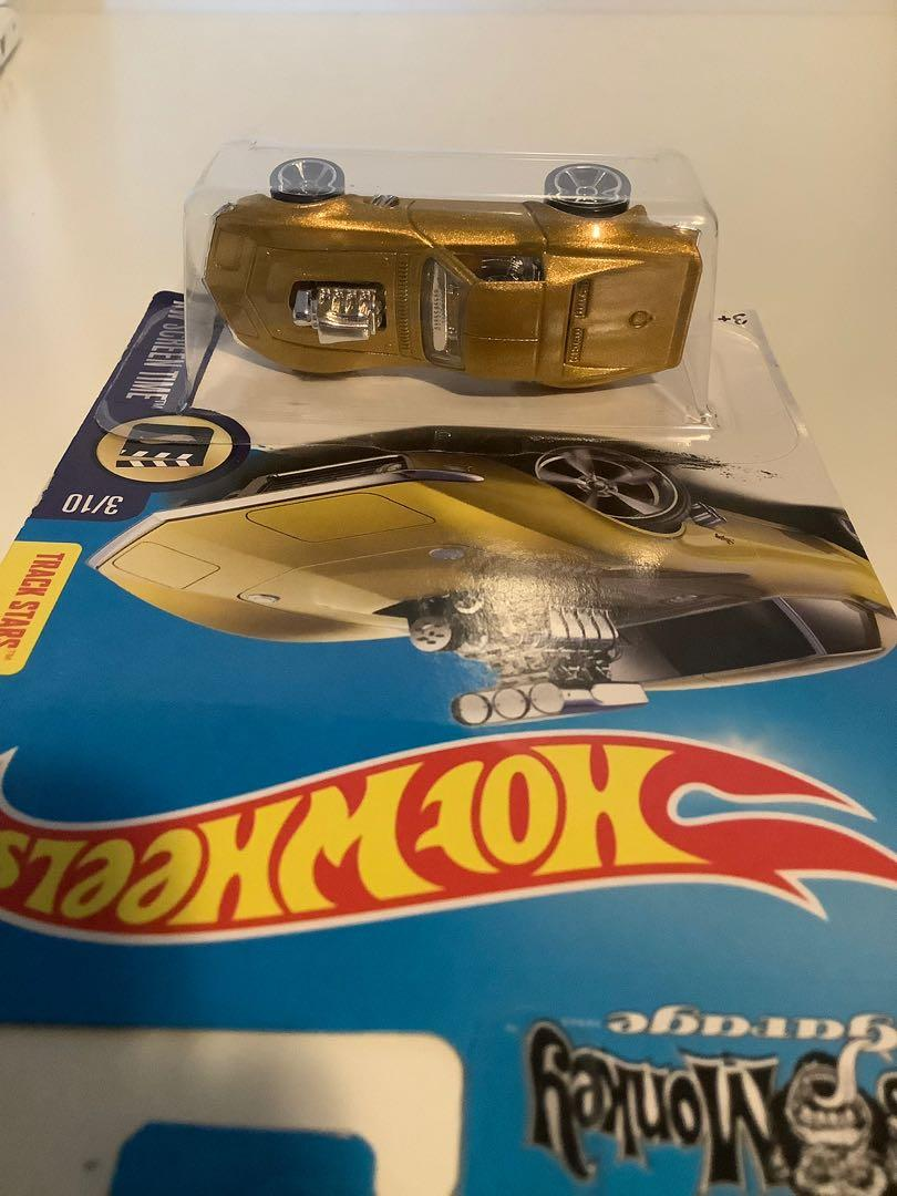 Hot wheels 1968 Chevrolet Corvette Gas monkey garage collectible limited edition diecast car