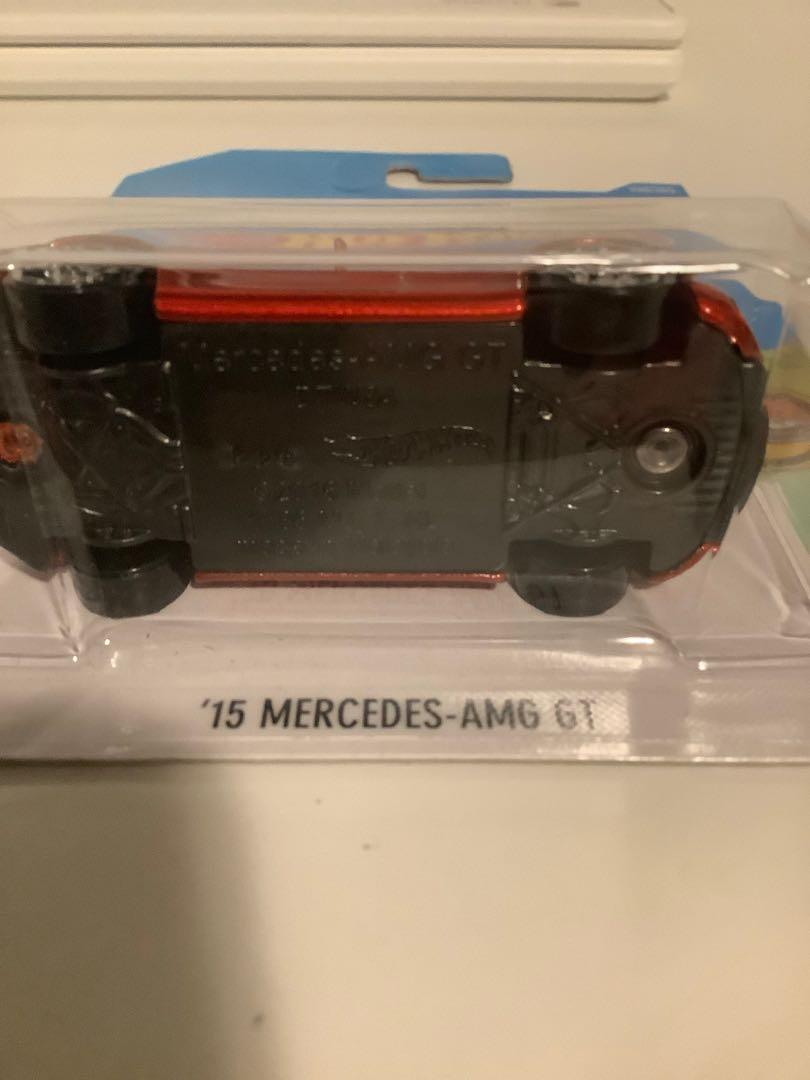 Hot wheels 2015 Mercedes-AMG GT collectible diecast sports car