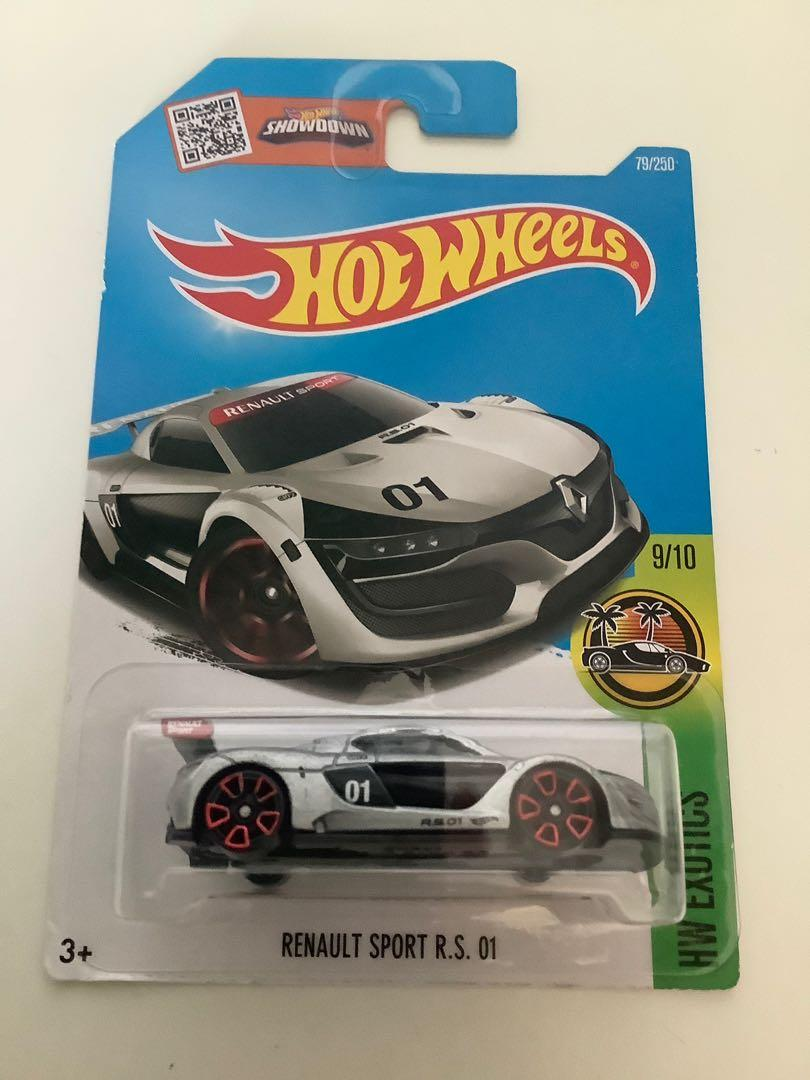 Hot wheels 2015 Renault sport R.S. 01 collectible diecast sports car