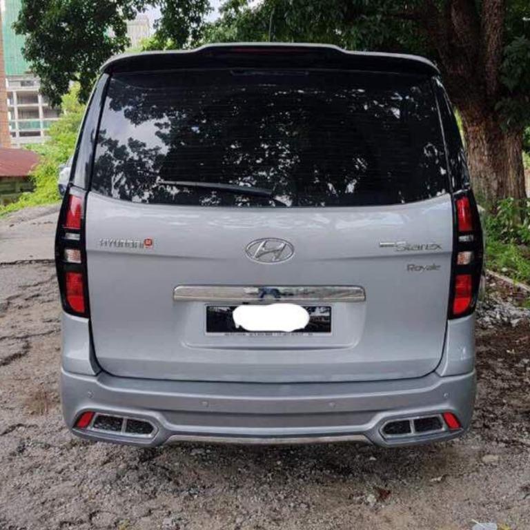 Hyundai Starex Diesel Turbo 2.5cc (A) Untuk Disewa
