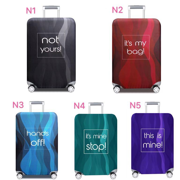 Instock Luggage Cover