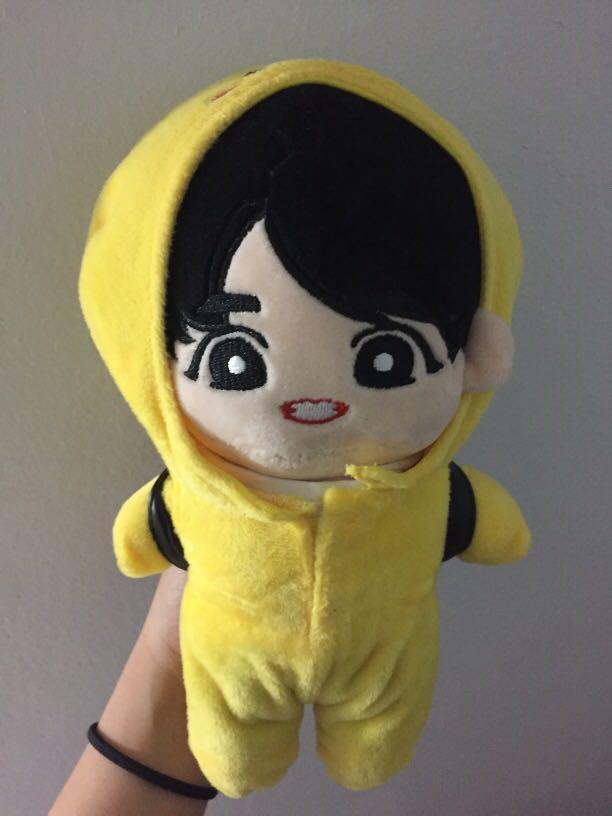BTS Jungkook Plushie/ Doll (fanmade) KPOP BANGTAN BOYS