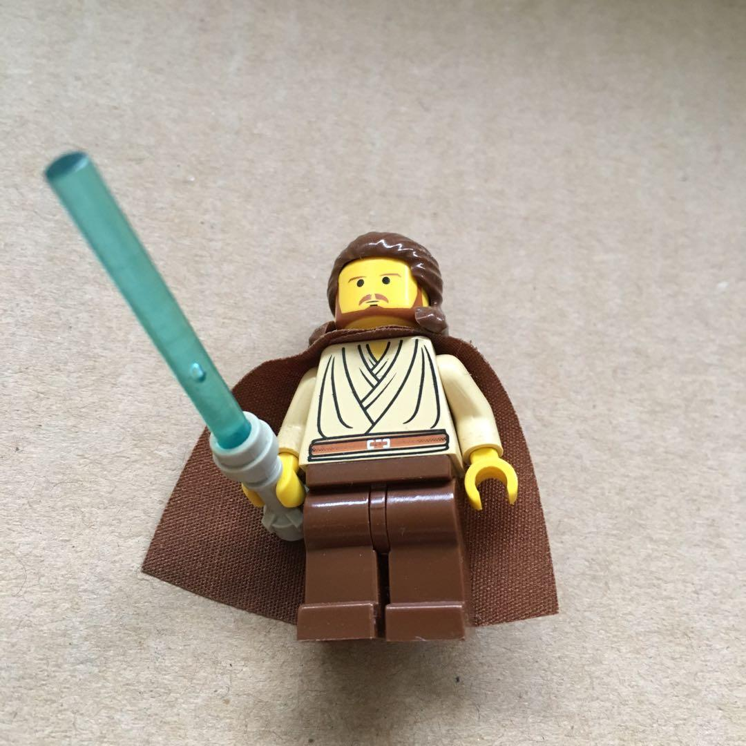 QUI-GON JINN MINIFIGURE ~ Star Wars Lego Series ~ New MINT~