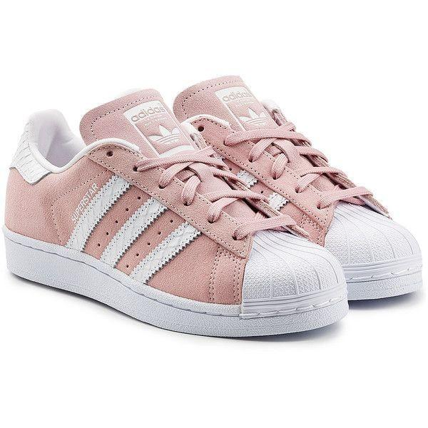 pink adidas superstar trainers