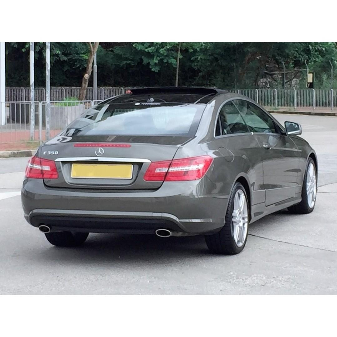 MERCEDES-BENZ   E350 COUPE AMG C207   2011