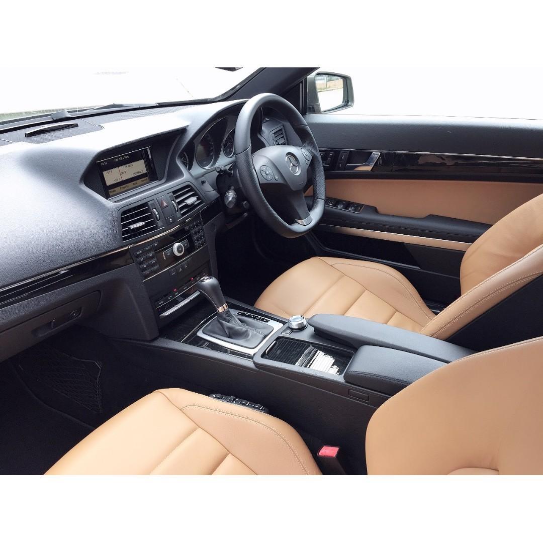 MERCEDES-BENZ   E350 COUPE AMG C207   2011