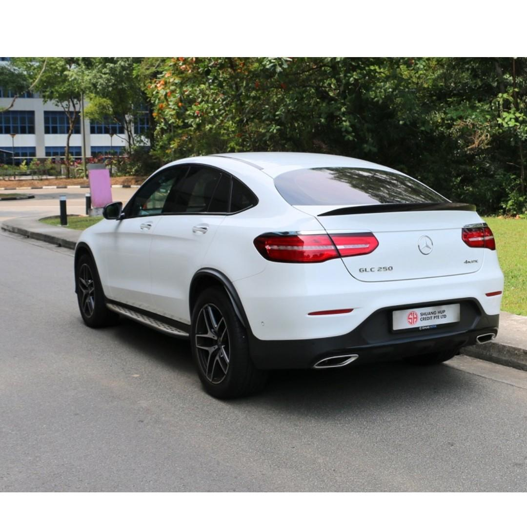 Mercedes-Benz GLC250 Coupe AMG Line Auto