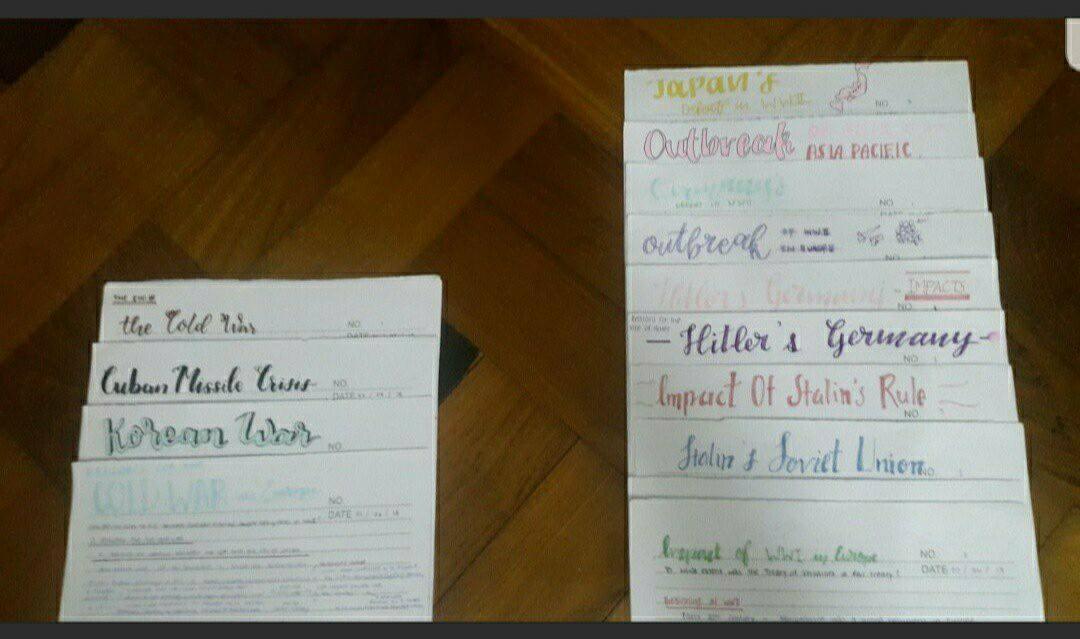 O Level History Handwritten Notes (Soft Copy)
