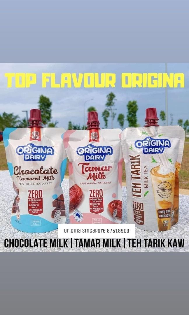 Origina tamar milk choco milk teh tarik