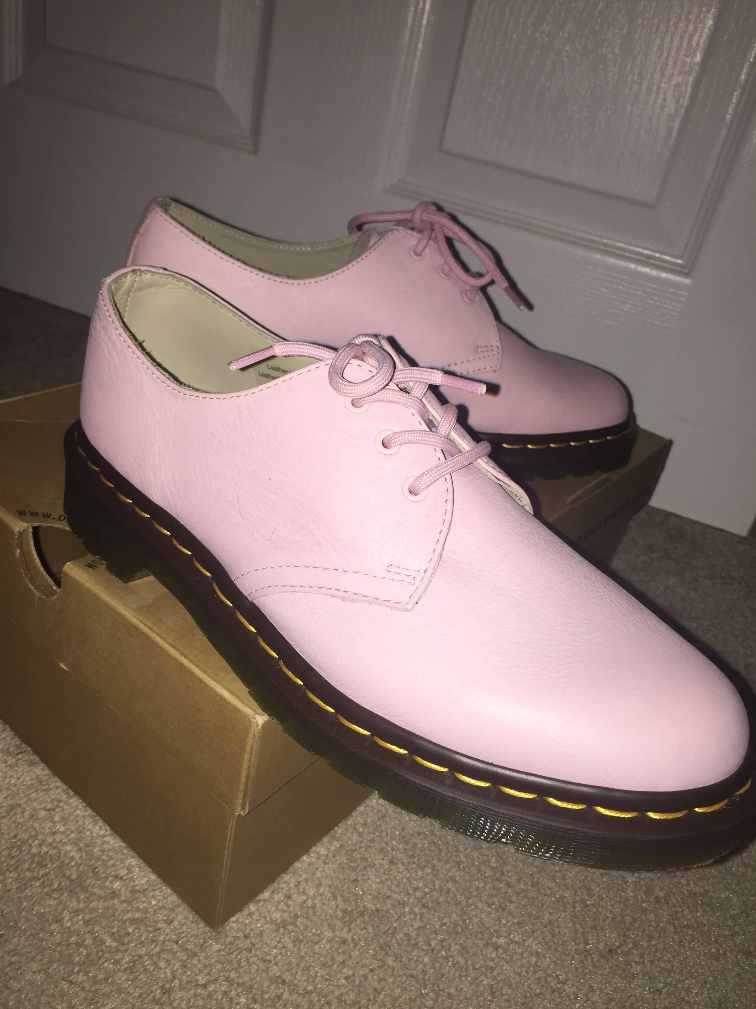 Pastel Pink 3 Eye Limited Edition Dr Martens