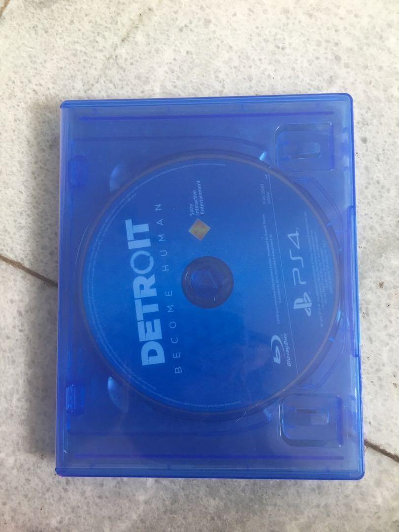 PS 4 Detroit Become Human