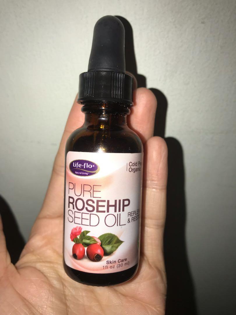 Rosehip seed oil life flo face oil